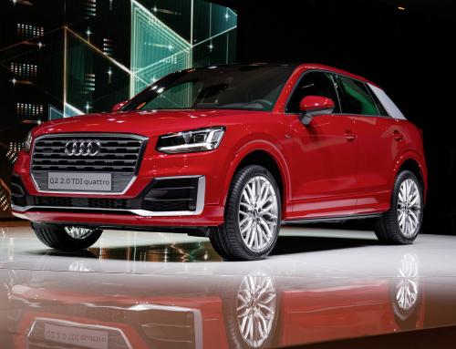 Audi presentó en el Salón de Ginebra el Audi Q2, su nuevo SUV compacto